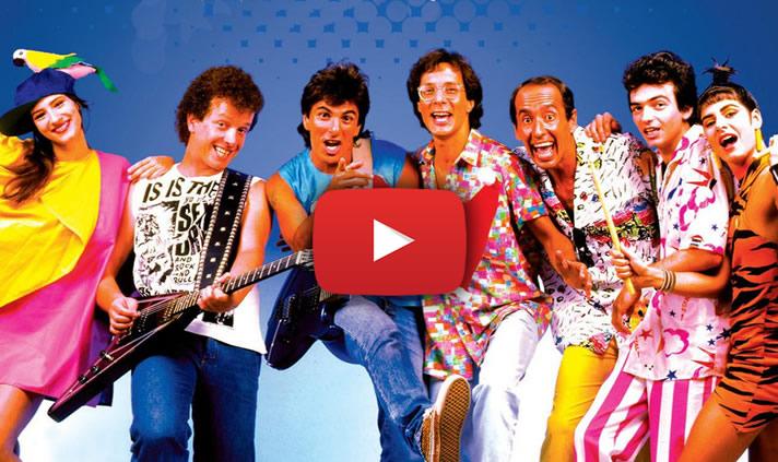 6 músicas nacionais anos 80 só saudade